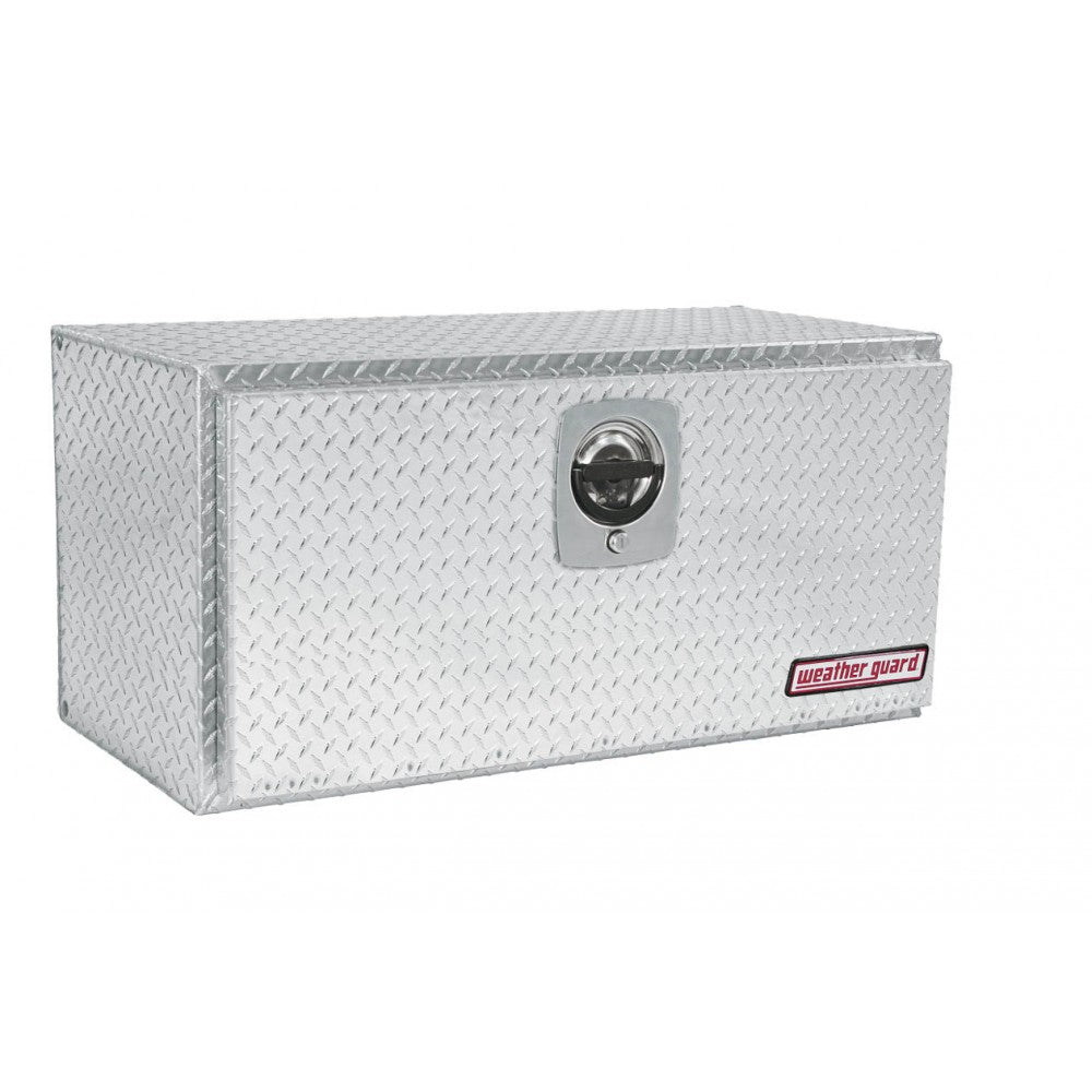 Weather Guard 636-0-02 Aluminum Underbed Box - Welch Welding & Truck Equipment