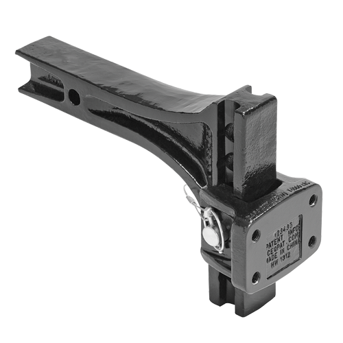 Draw Tite Adjustable Pintle Mount - Welch Welding & Truck Equipment