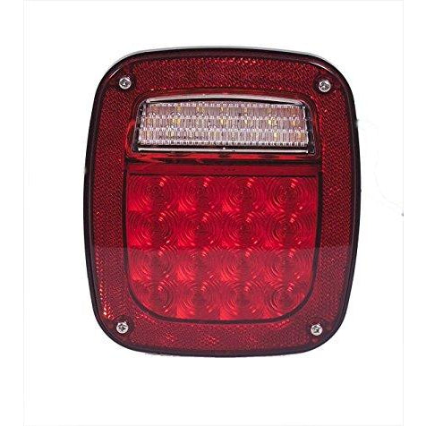 Maxxima M42220 Red Stop Tail Turn Light - Welch Welding & Truck Equipment