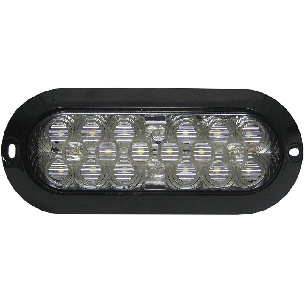 Maxxima Oval Surface Mount Back Up Light Clear