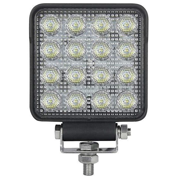 Hella Square 2.0 LED Work Light. Hella 357106012. 14 LED work light. 2000 lumen square light