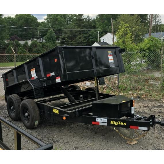 Big Tex Trailers. Big Tex 90SR-10 Dump Trailer - Welch Welding & Truck Equipment