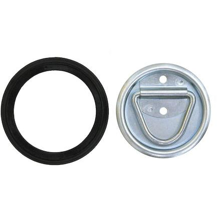 Surface Mounted or Recessed Rope Ring - Welch Welding & Truck Equipment