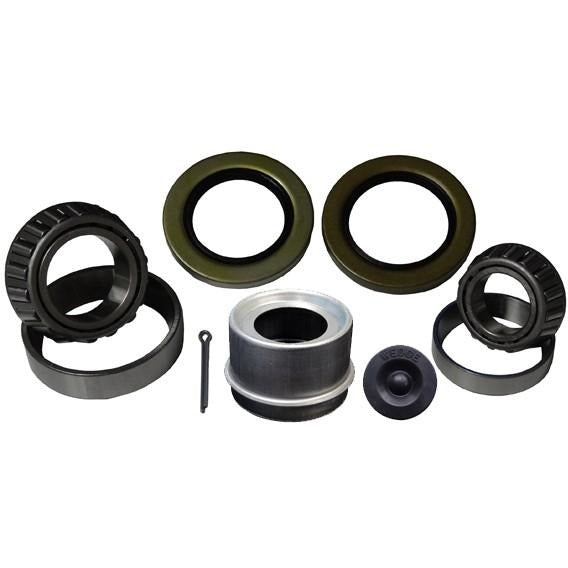 "1-3/4"" x 1-1/4"" Bearing Kit. Trailer bearing kit. Inner bearing 25580. outer bearing 15123. inner race 25520. outer race 15245. BK-10"