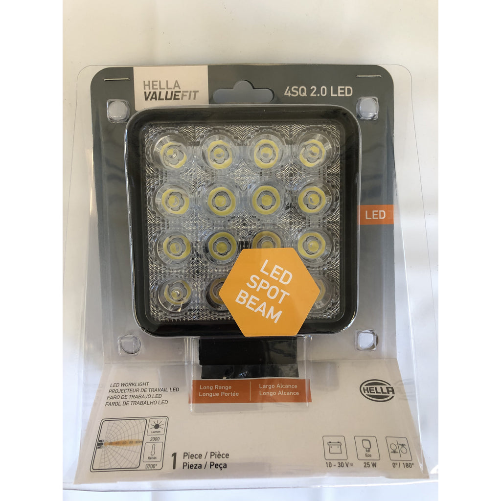 Hella Square 2.0 LED Work Light
