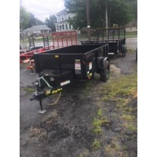 Big Tex 50SR-8 Dump Trailer - Welch Welding & Truck Equipment