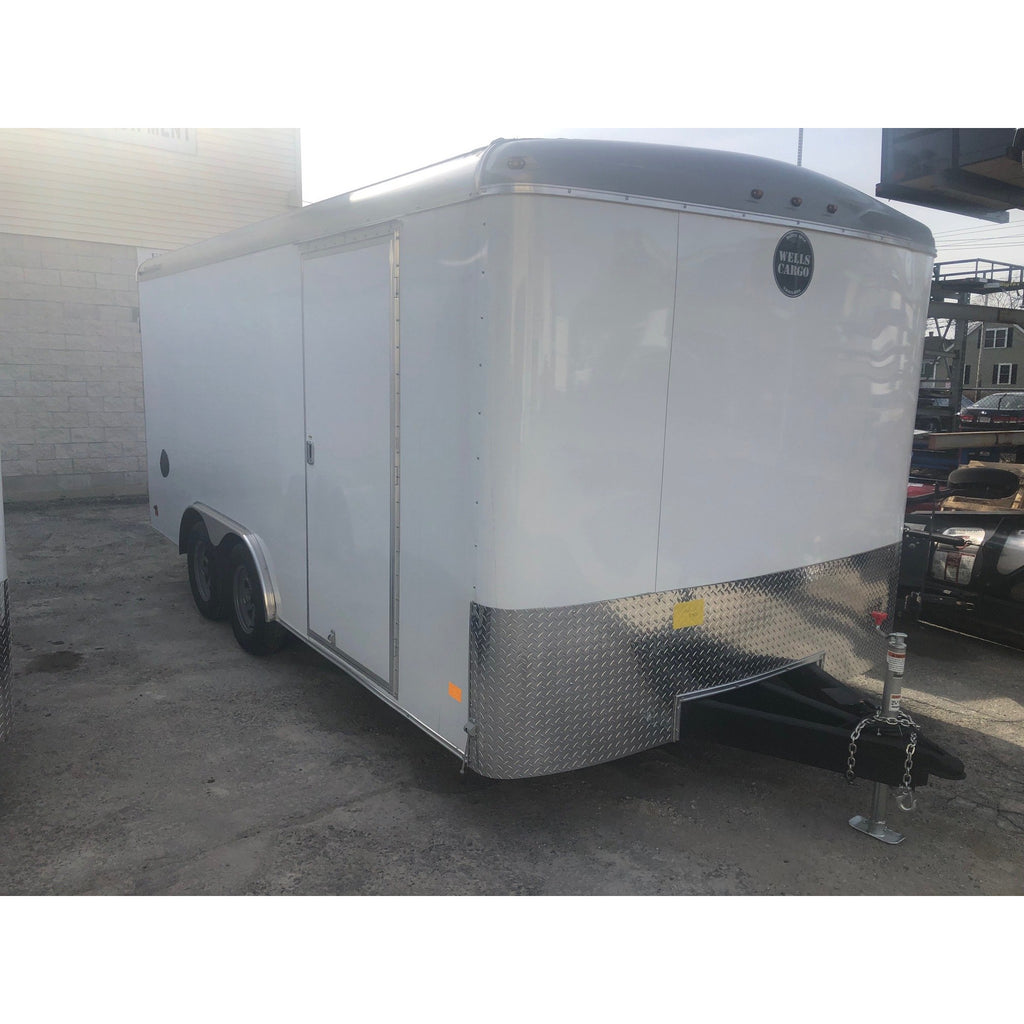 Wells Cargo 8-1/2 x 16 Enclosed Trailer. 8.5 x 16 Road Force Enclosed Trailer
