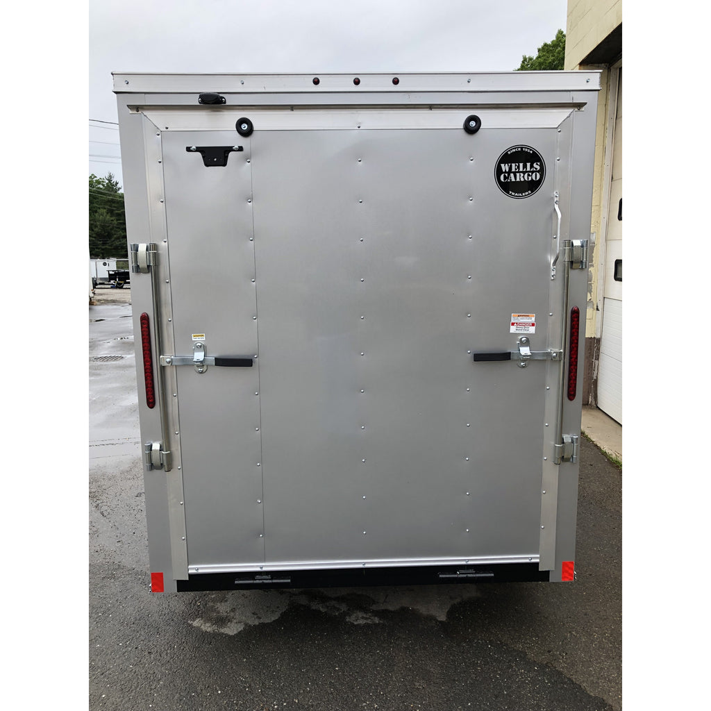 Wells Cargo 6 x 12 Silver - Welch Welding & Truck Equipment