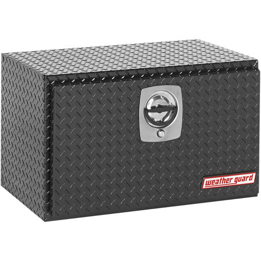 Weather Guard 631-5-02 gloss black aluminum underbed toolbox