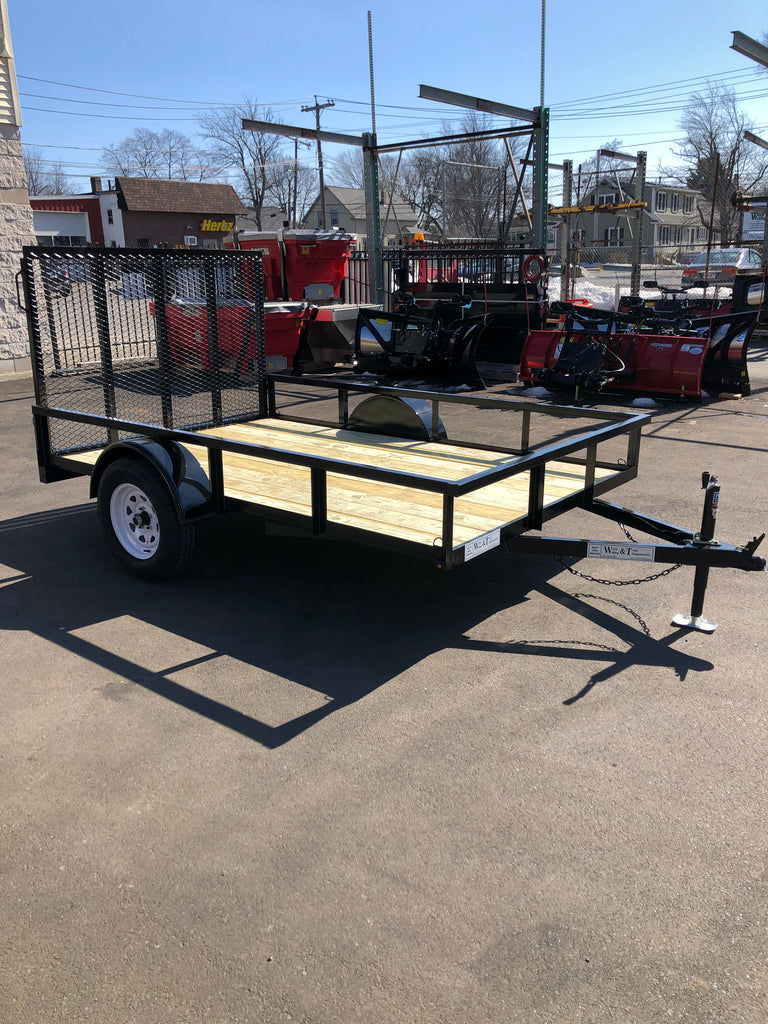Welch Welding 6.5' x 10' Utility Trailer
