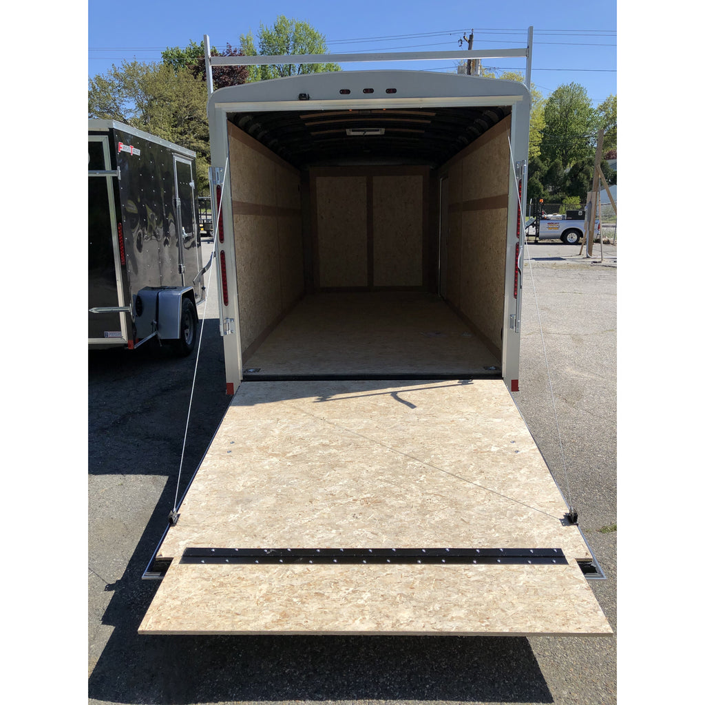 Wells Cargo 7 x 16 Road Force Ramp Gate Trailer