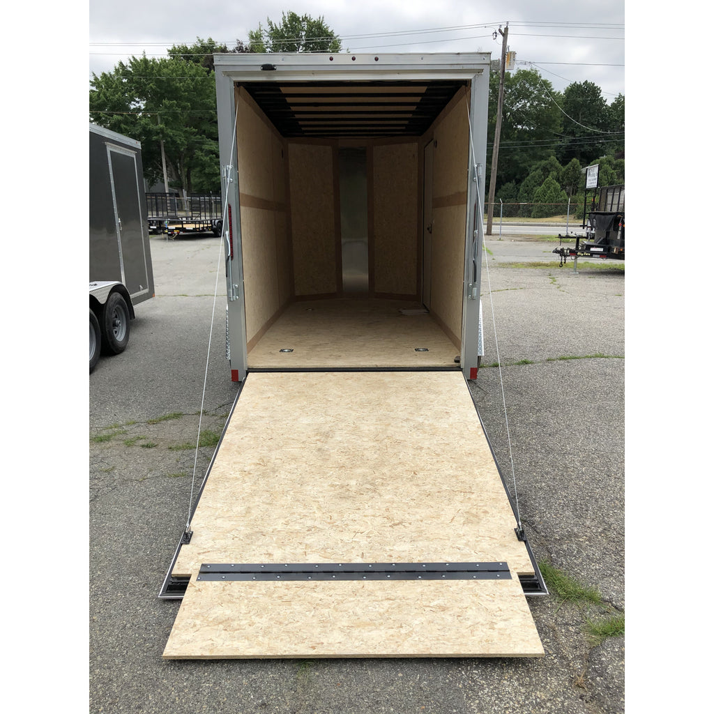 Wells Cargo 6 x 12 Charcoal Gray Road Force V Trailer