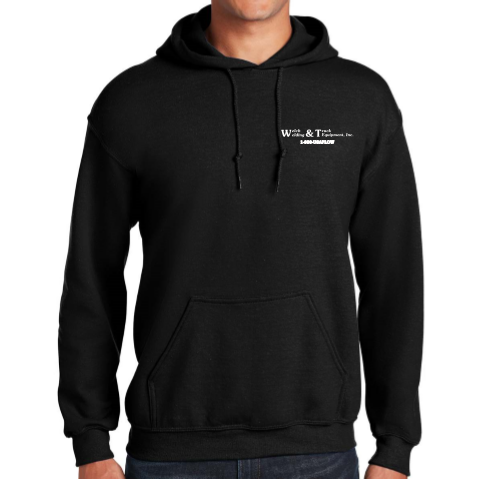 Welch Welding Boss Snow Plow Hooded Sweatshirt