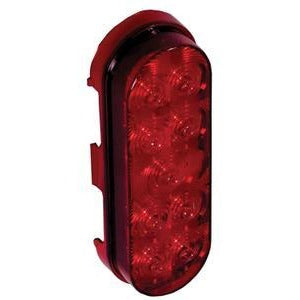 "Maxxima M63322R Red 6"" Stop Tail Turn Light - Welch Welding & Truck Equipment"