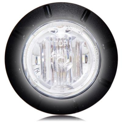 "Maxxima M09400RCL Clear 1-1/4"" Mini Marker Light - Welch Welding & Truck Equipment"