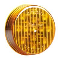"Maxxima M11300Y Amber 2-1/2"" Marker Light - Welch Welding & Truck Equipment"