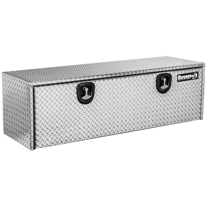 "Buyers Diamond Tread Aluminum Underbody Truck Box. 24"" x 24"" x 60"""