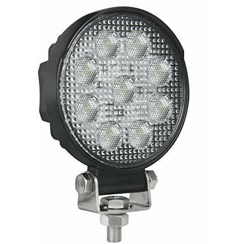 Hella Round 1.0 LED Work Light - Welch Welding & Truck Equipment