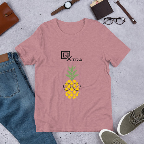 BXTRA Pineapple with Sunglasses Unisex T-Shirt