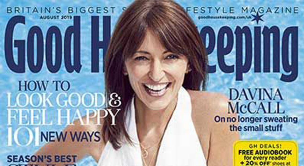 GOOD HOUSEKEEPING: BOTTLED SUNSHINE