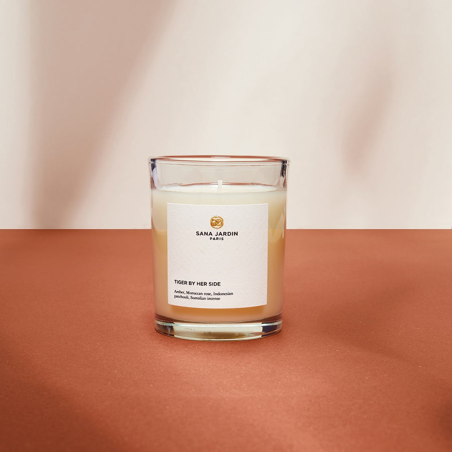 Tiger By Her Side Scented Candle *Pre Order*