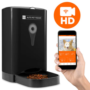 smart automatic pet feeding station