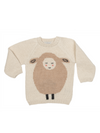 Sheep Sweater White - Morado