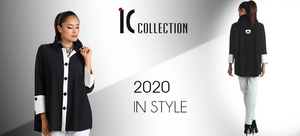 IC collection, statement jackets and tops, classy and clean style, prada pant