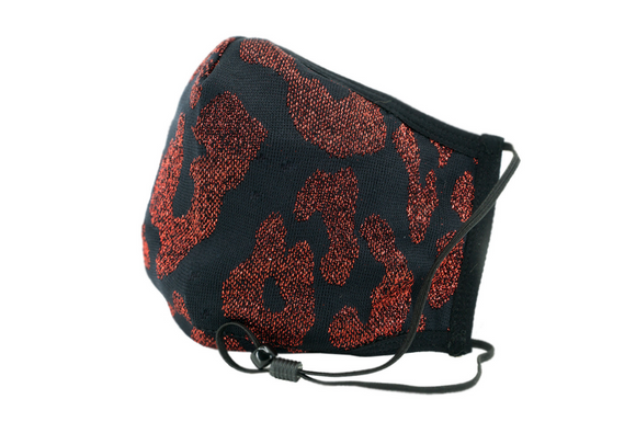 Berek Leopard Deluxe Mask Black/ Red M163937