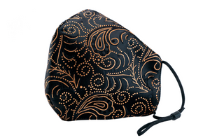 Berek After Five Paisley Mask Black/Gold M185937