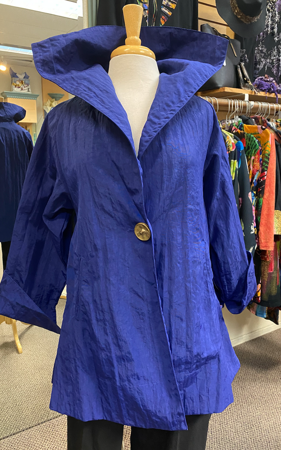 Dorman Blue Raincoat