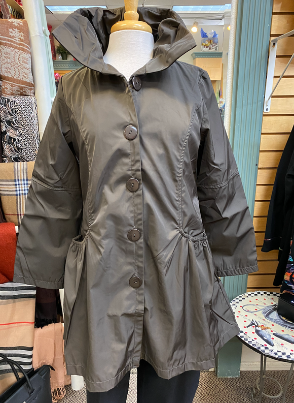 Dorman Chocolate Brown Raincoat