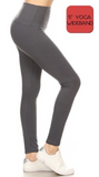 """Solid Black"" Leggings"
