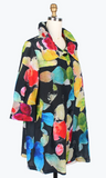 Damee Watercolor Gemstone Swing Jacket-4637-BLK