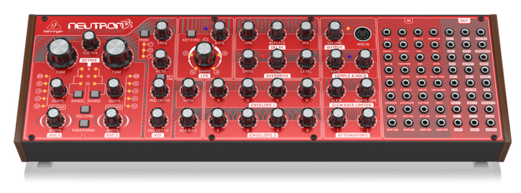 Review: Behringer Neutron Semi-Modular Analog Synth