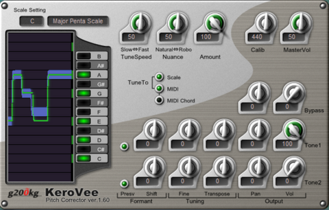 KeroVee Pitch Correction Free Autotune