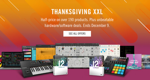 Native Instruments Thanksgiving Black Friday