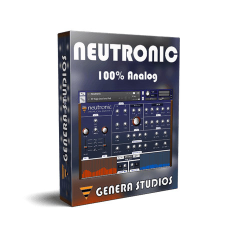 Neutronic - Analog Synth Kontakt Library