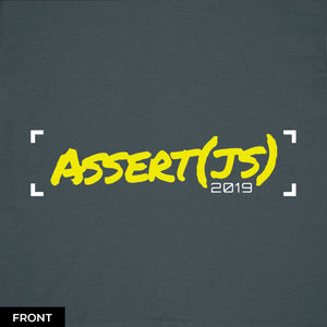 """Unit Test"" T-Shirt (Men's) - Assert(js) 2019"