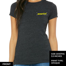 "Load image into Gallery viewer, ""Unit Test"" T-Shirt (Women's) - Assert(js) 2019"