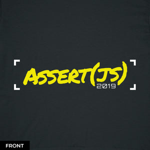 """Unit Test"" T-Shirt (Women's) - Assert(js) 2019"