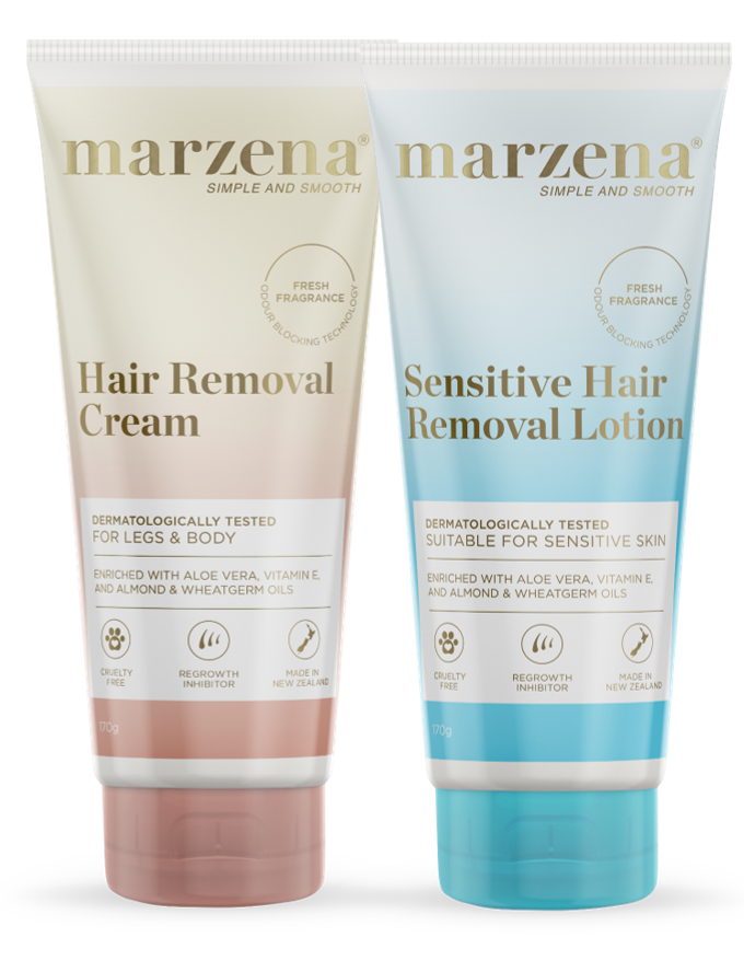 Sensitive Hair Removal Lotion and Hair Removal Cream