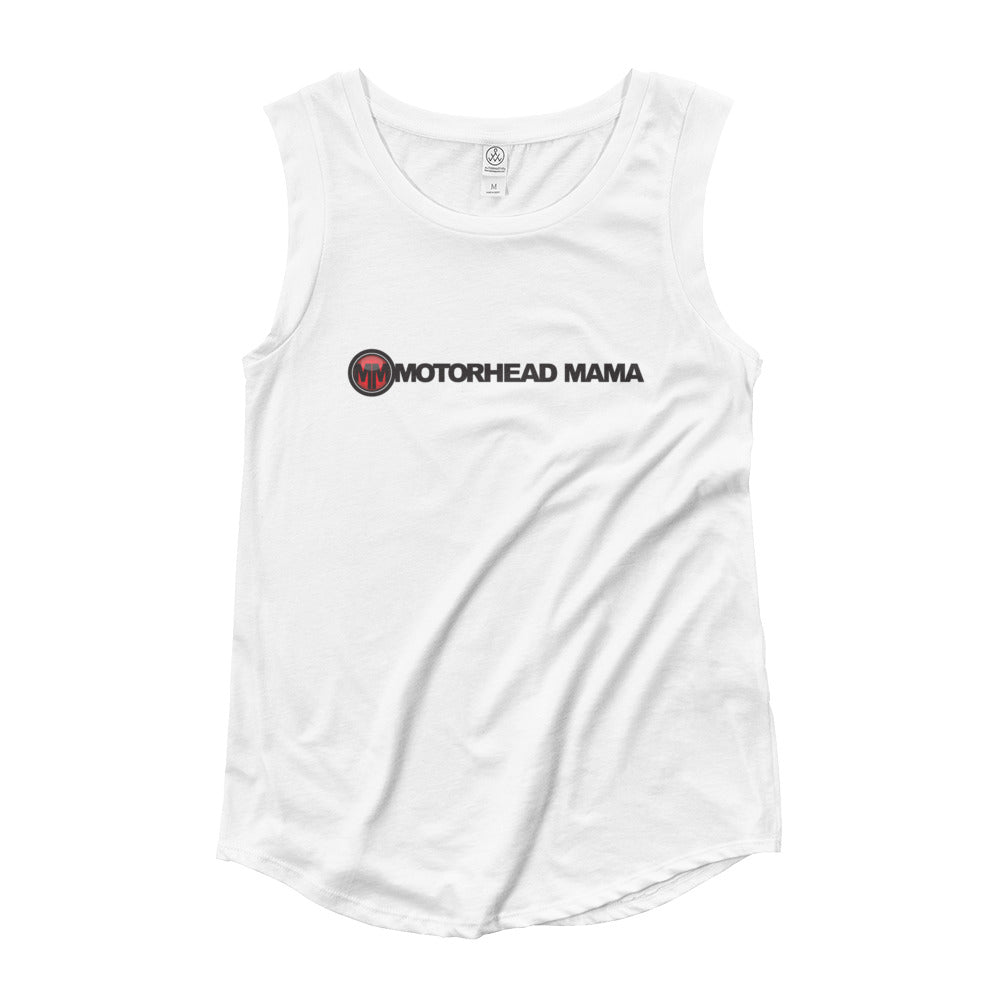 Mama's Ladies' Cap Sleeve T-Shirt
