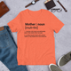 MOTHER DEFINITION TEE