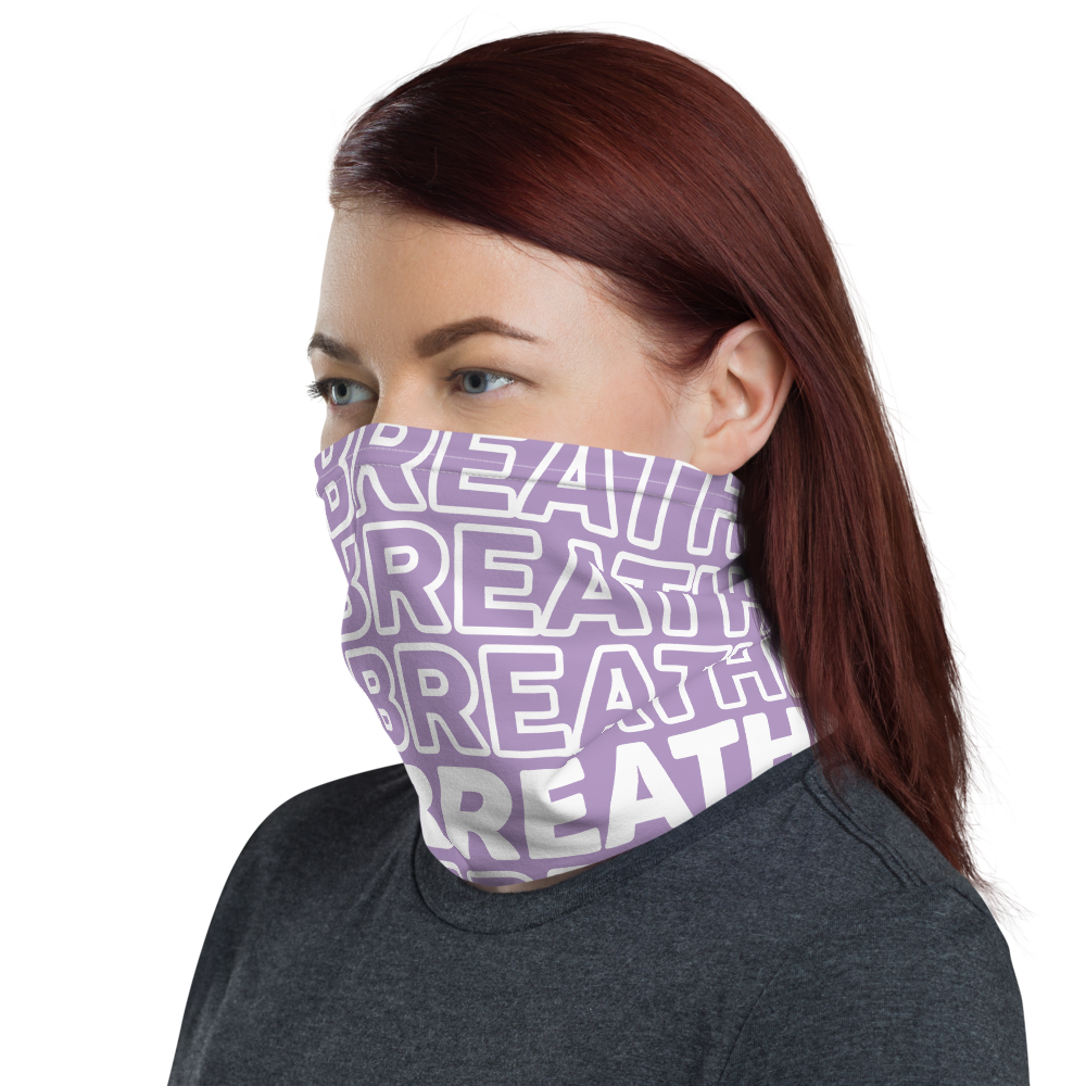 LILAC NECK GAITER (FASK MASK)