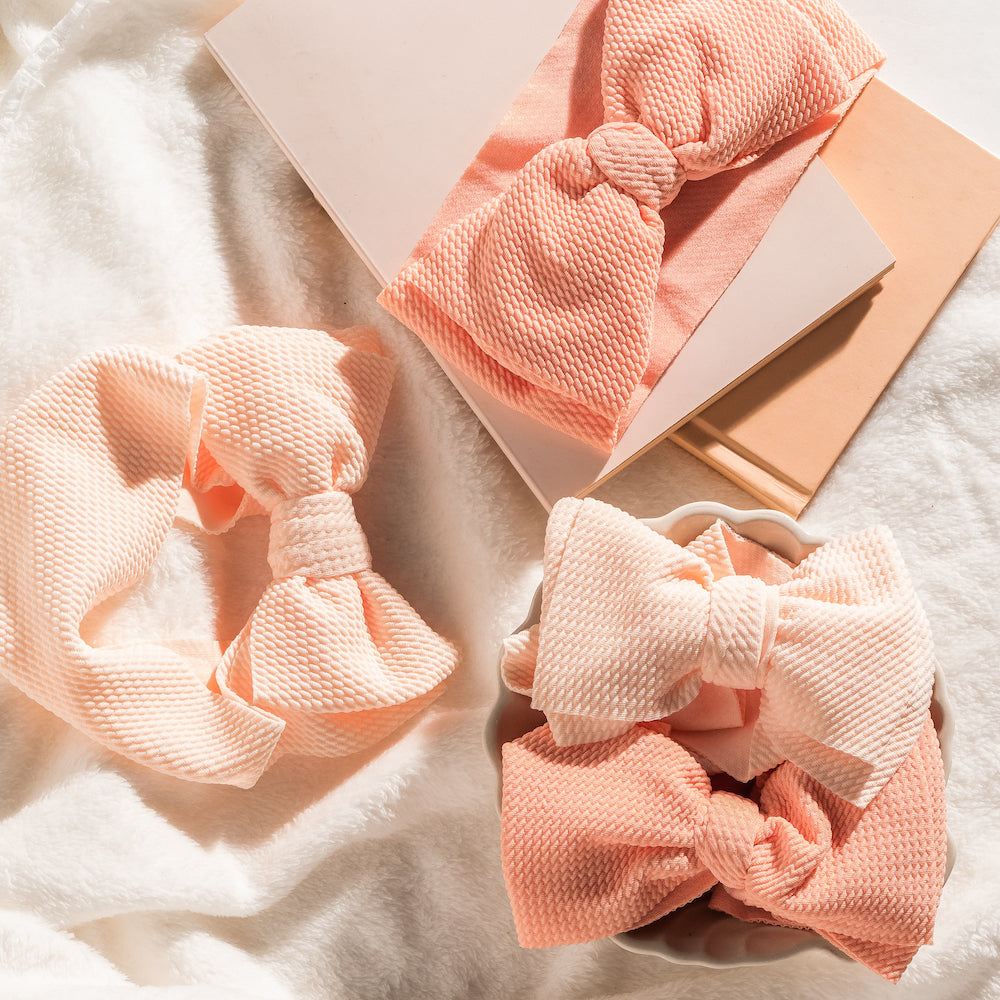 Adjustable Bow Headbands