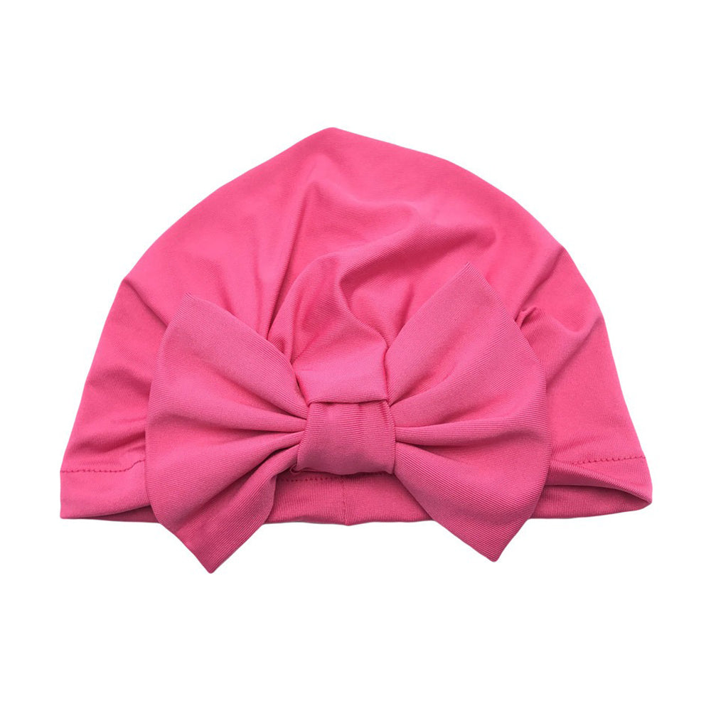 Baby Softie Turban — Hot Pink