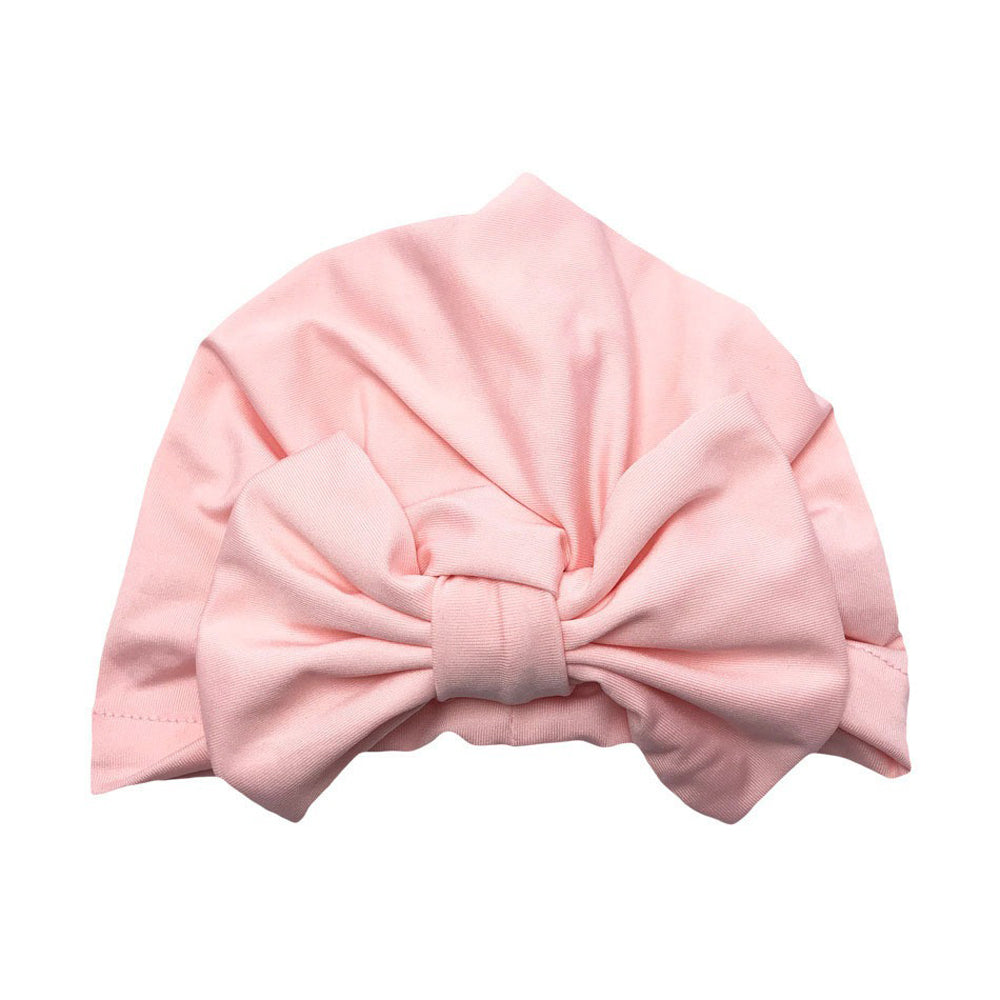 Baby Softie Turban — Soft Pink