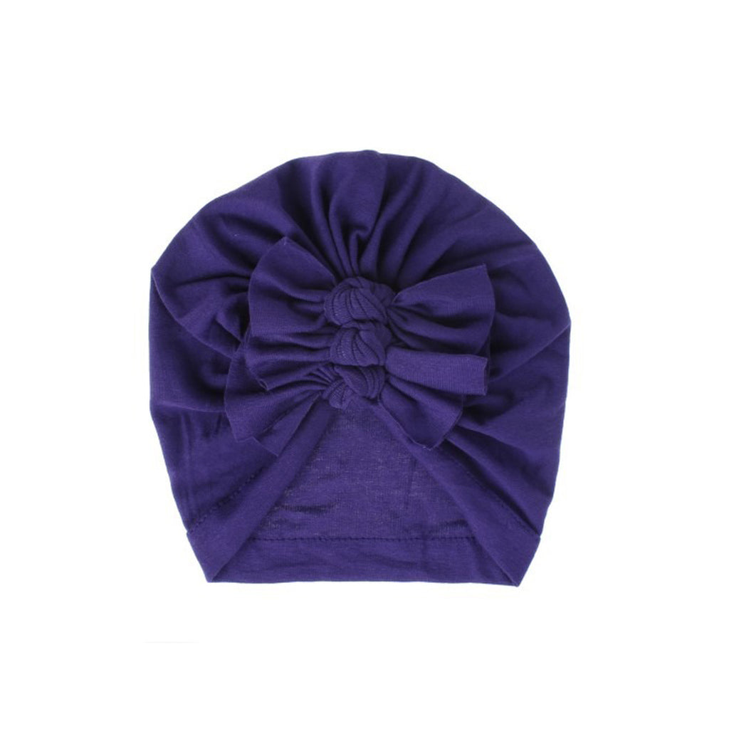 Baby Triple Knot Turban — Lilac