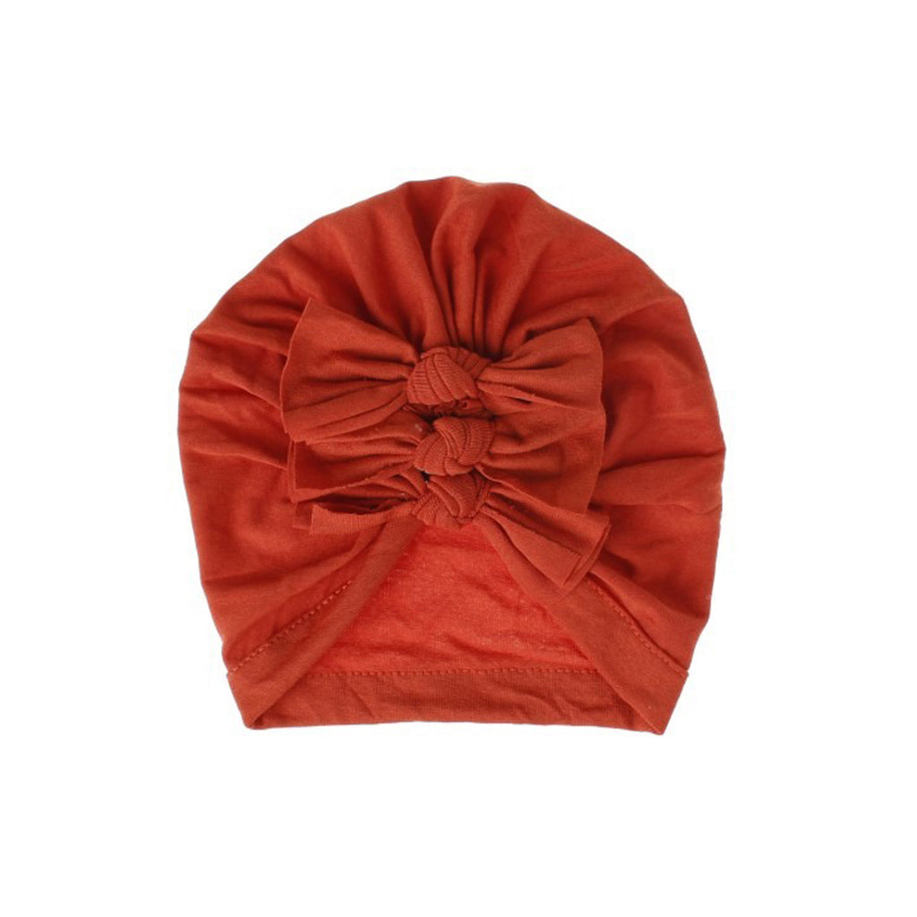 Baby Triple Knot Turban — Rouge